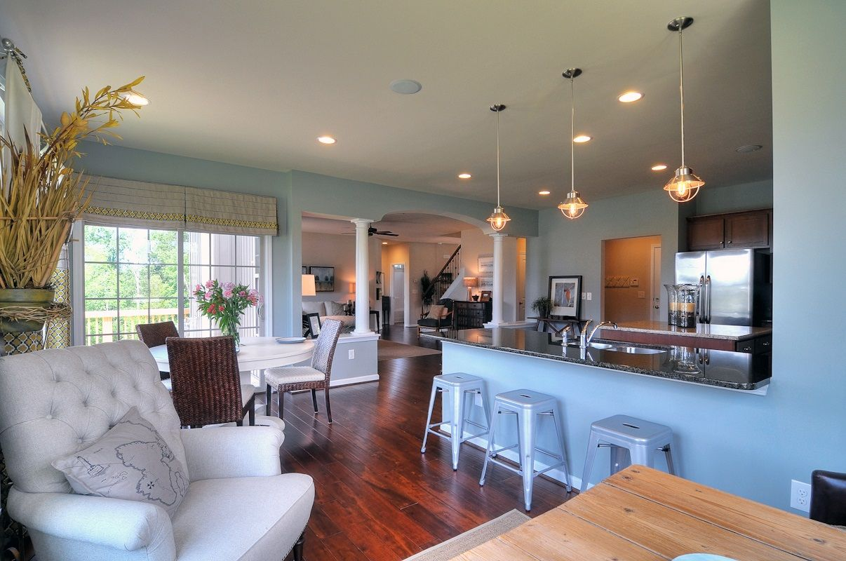 morning room flow with images lake house family room on lake house interior paint colors id=63958