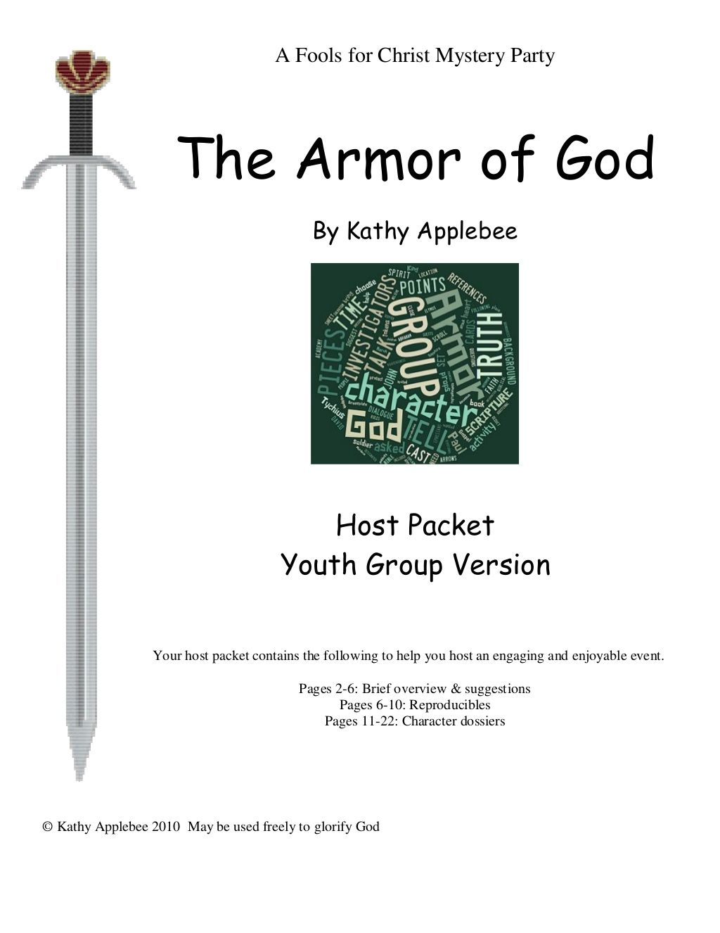 The Belt of Truth - Armor of God > Free Bible Study Guides