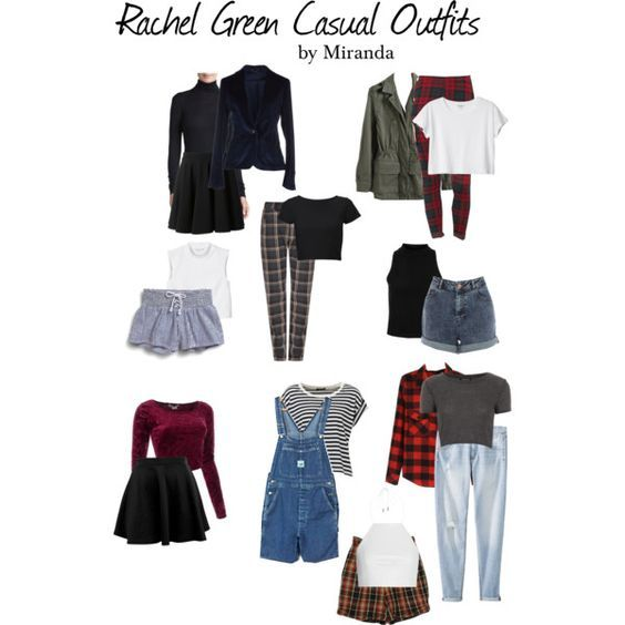 Rachel Green Casual Outfits Rachel Green Clothes And