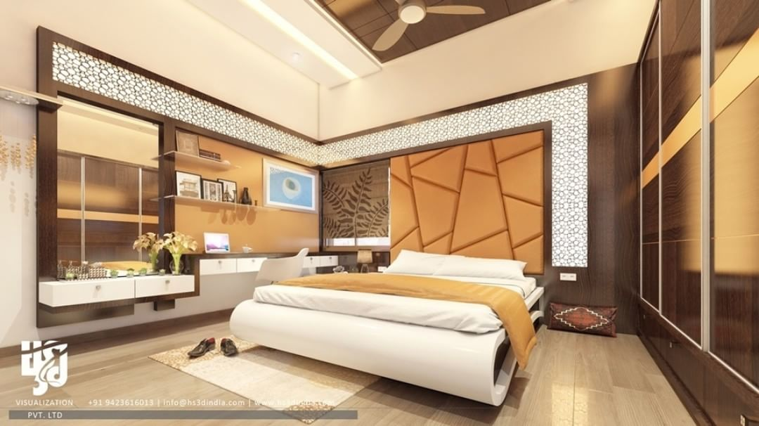 Modern Bedroom Interior Design 3drender View By Www