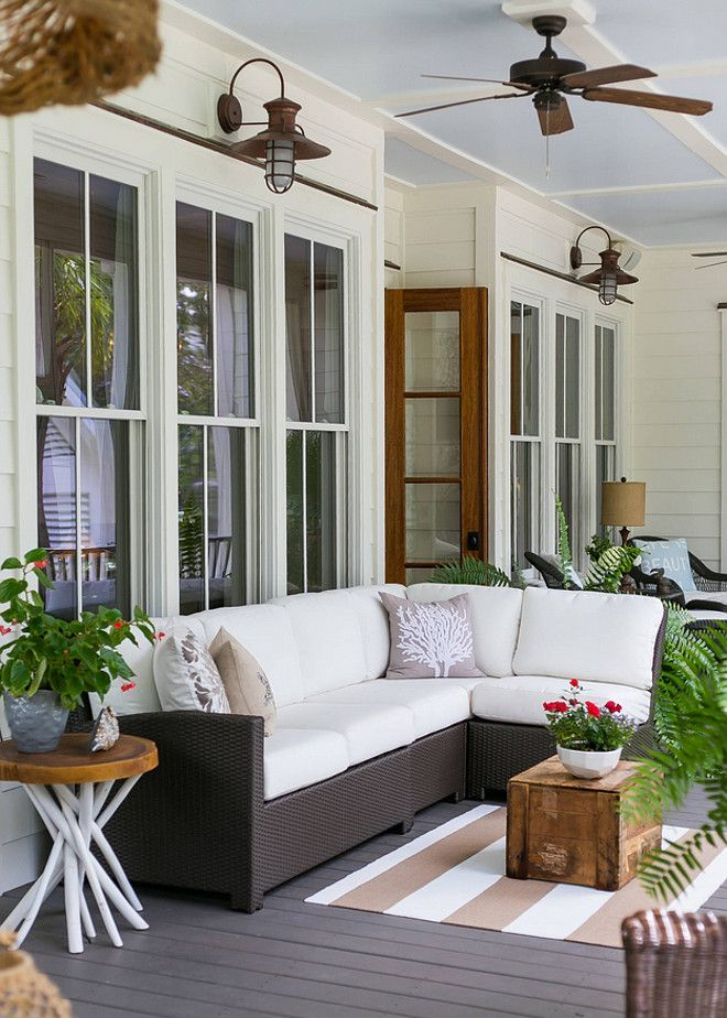 Back Porch Back Porch Furniture And Decor Back Porch Backporch Porch Furniture Charleston Home And Design House With Porch Porch Furniture Porch Design