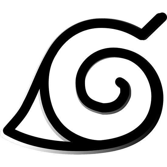 Konoha Symbol Simbolo Naruto Naruto Png Desenho Hippie