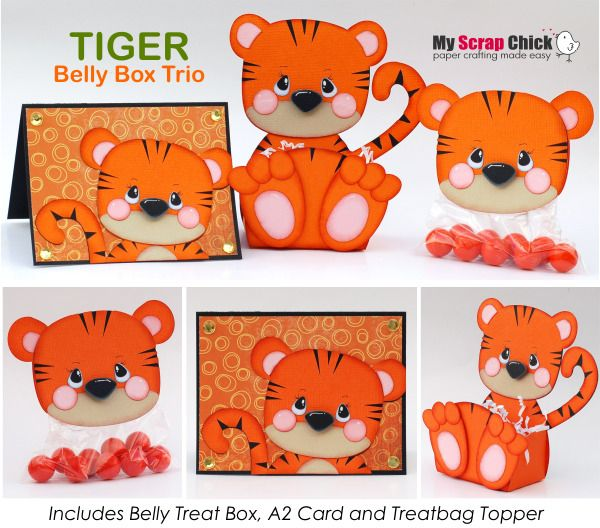 Tiger Belly Box Click To Enlarge My Scrap Chick Pinterest