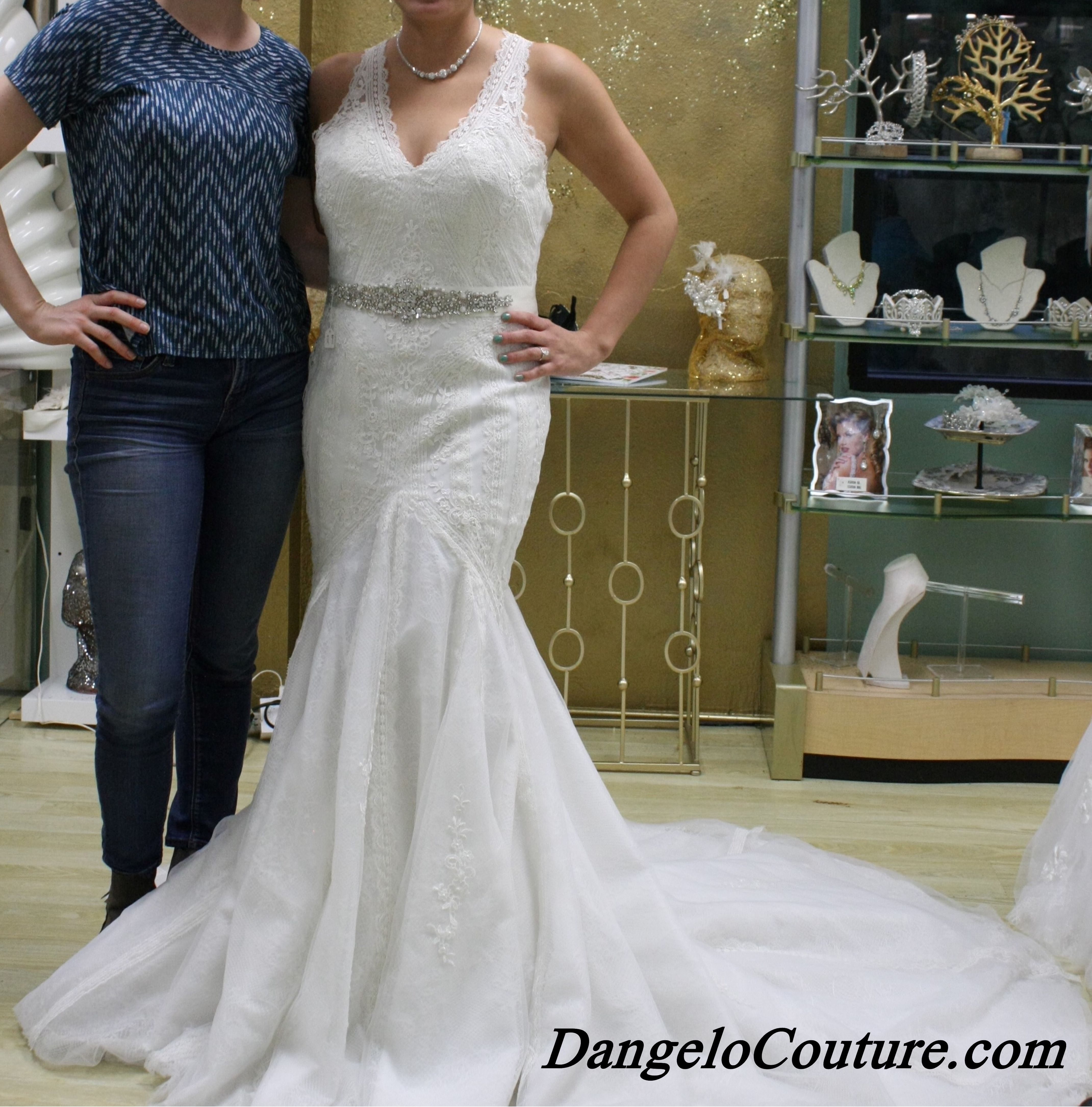 Wedding Dresses At Du0027Angelo Couture Bridal In San Diego, California.