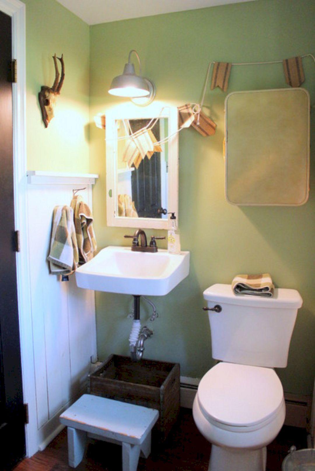 industrial farmhouse bathroom lighting