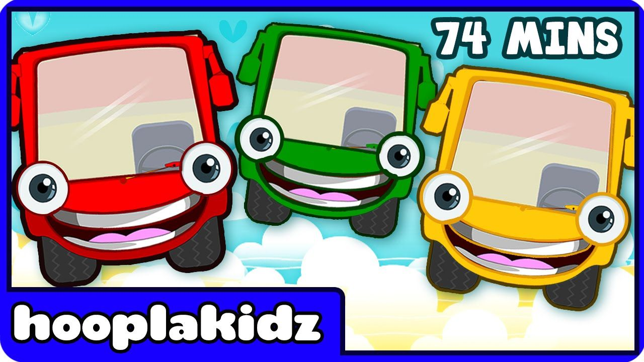 Enjoy This Fabulous Collection Of Wheels The Bus One Most Well Loved Kids Songs Brought To You By Hooplakidz Nurseryrhymes