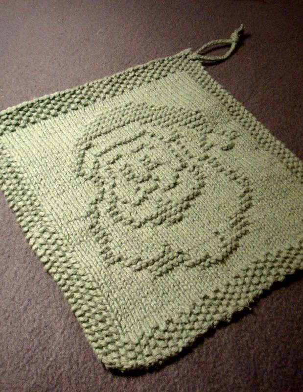 Christmas Decorations Knitting Patterns   Dishcloth, Knit patterns ...