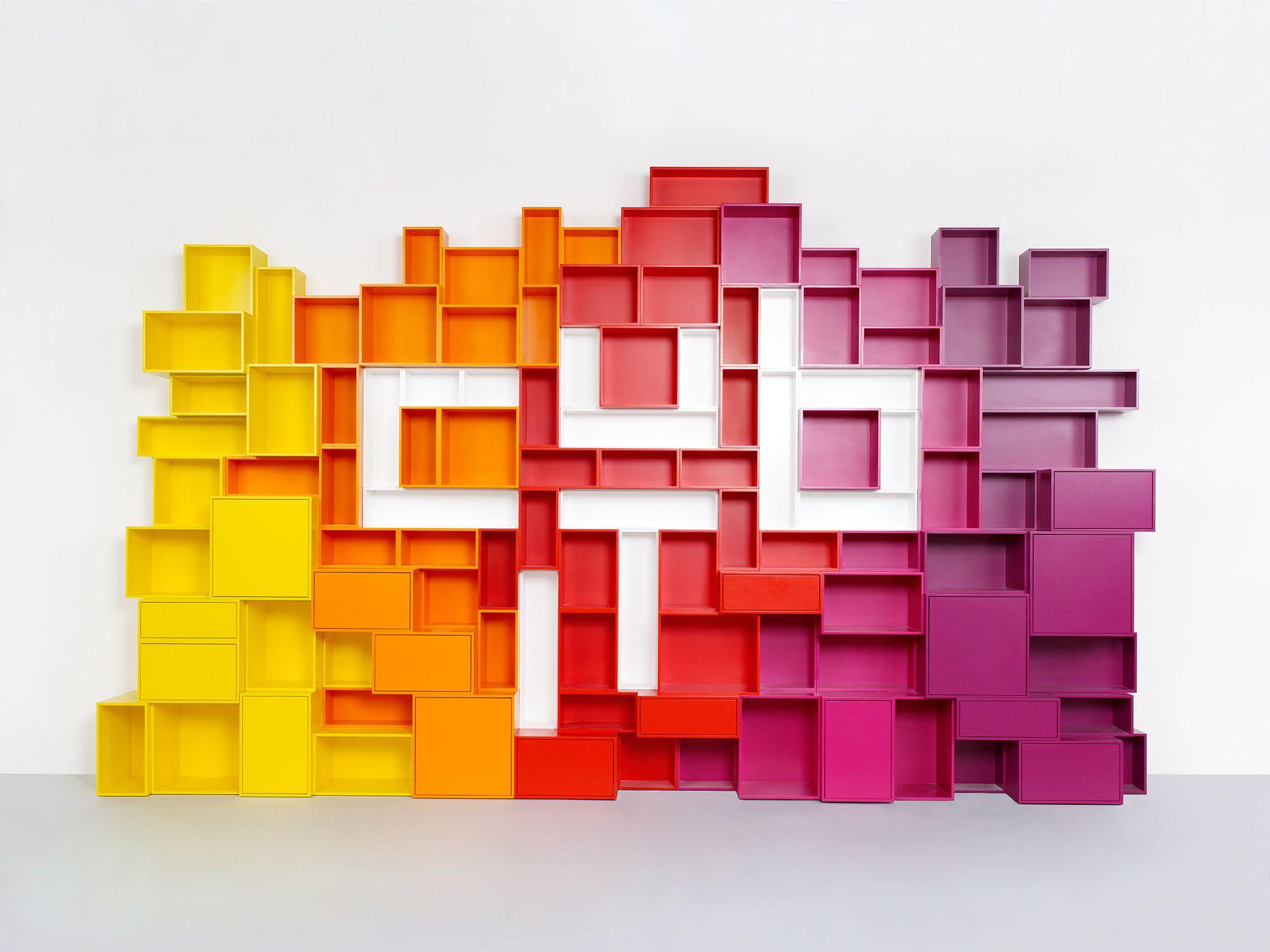 Shelves Cubit The Modular Shelving System Wall Colors Wall