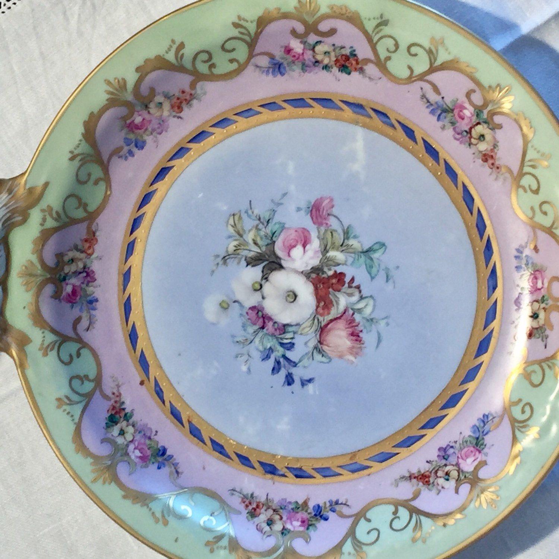 Ceramica Limoges Prezzi.Novita Limoges Bellissimo Piatto Grande Con Maniglie