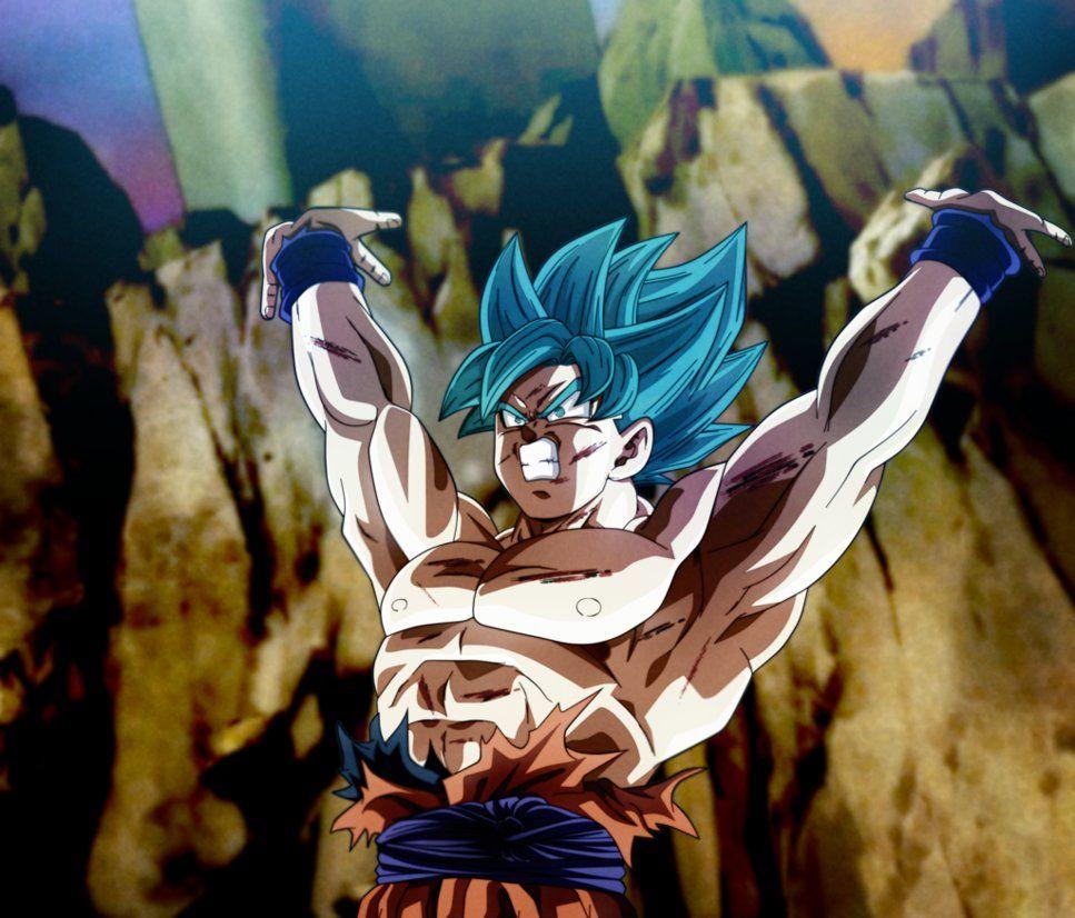 Here We Go Goku Genkidama Universe Surv By Koku78 Genkidama Personajes De Dragon Ball Personajes De Goku