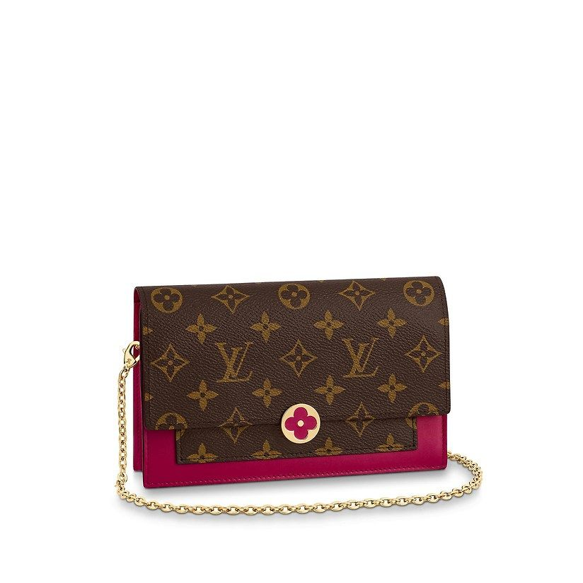 e66291f193 Flore Chain Wallet in 2019 | Luxury | Louis vuitton, Wallet chain ...