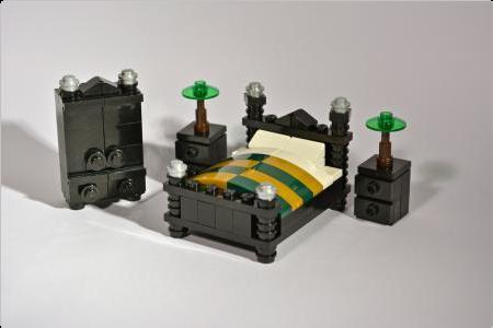 Bedroom Furniture Rebrick From Lego Fan To Lego Fan レゴ