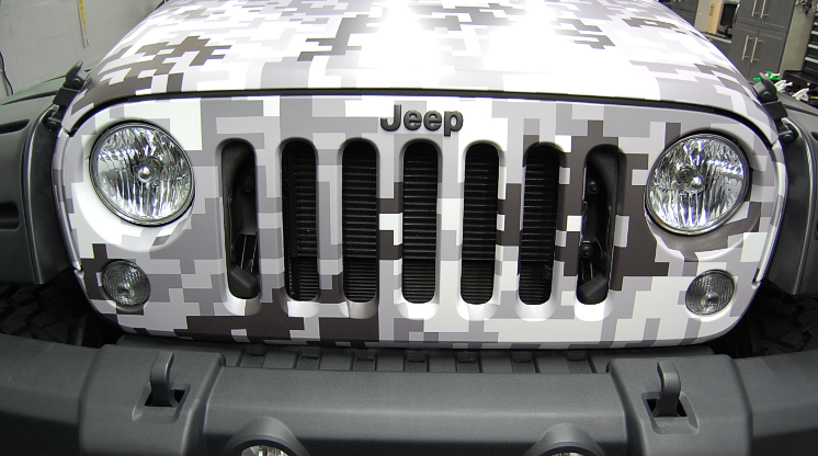 White Camo Jeep : Black and white camo car google search truck