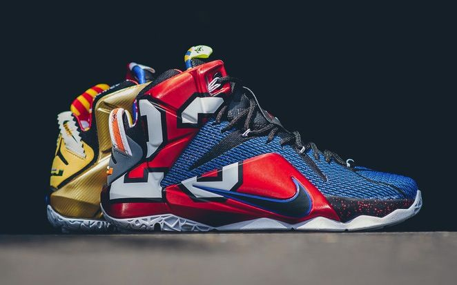 a13fd3ca3390 Nike LeBron XII 12 SE What The