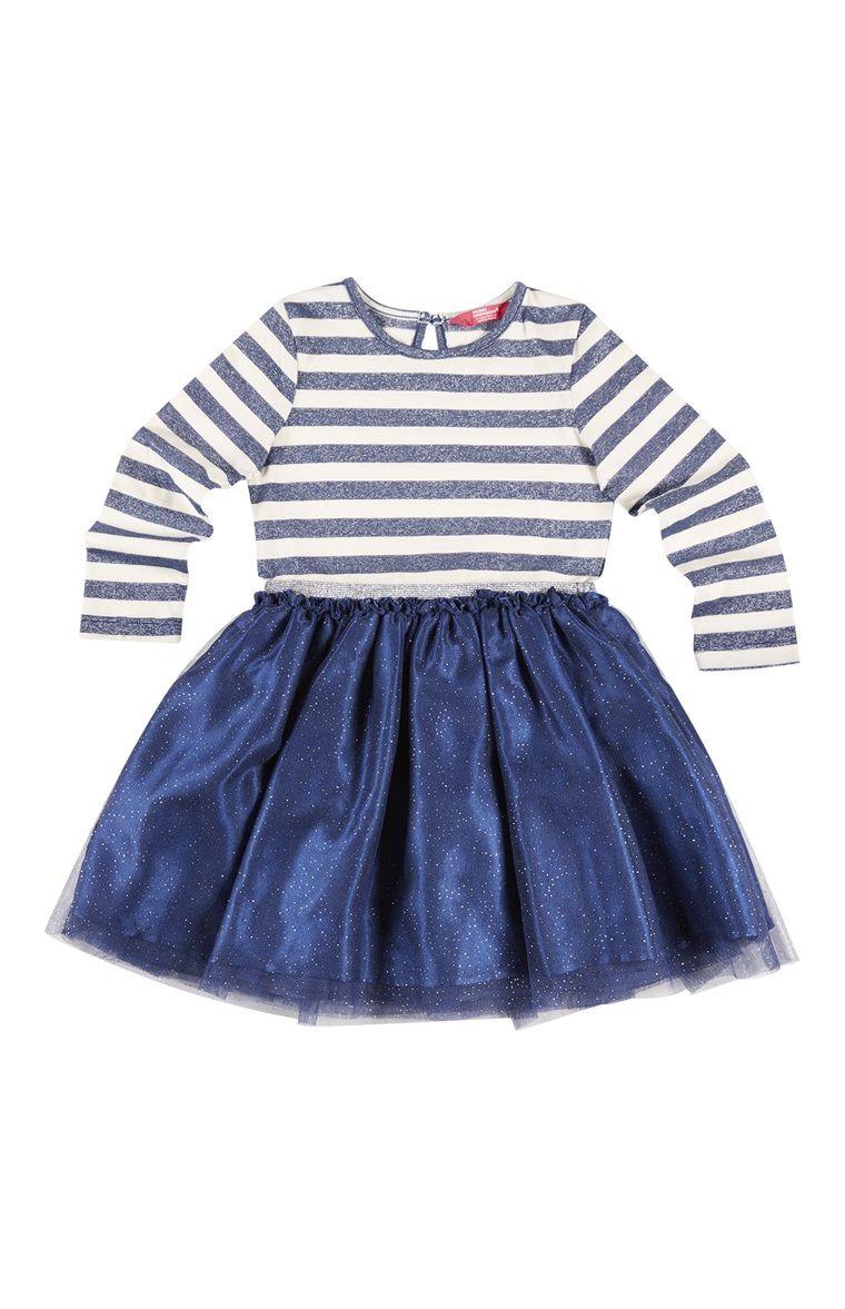 5a4b6189d Primark - Saia em tule e camisola 2 em 1 azul