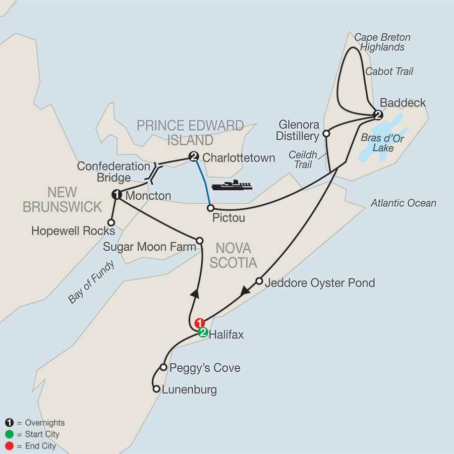 Wonders of the Maritimes & Scenic Cape Breton map | Places I ... on st. john's map, ontario map, north shore trail map, cape blanco map, bras d'or lake map, cape north nova scotia, cape brenton, nova scotia map, cape cod central railroad map, newfoundland map, canada map, rupert's land map, fortress louisbourg map, physical characteristics of a map, sydney map, muskoka map, cape farewell map, peggy's cove map, gournia map, london map,