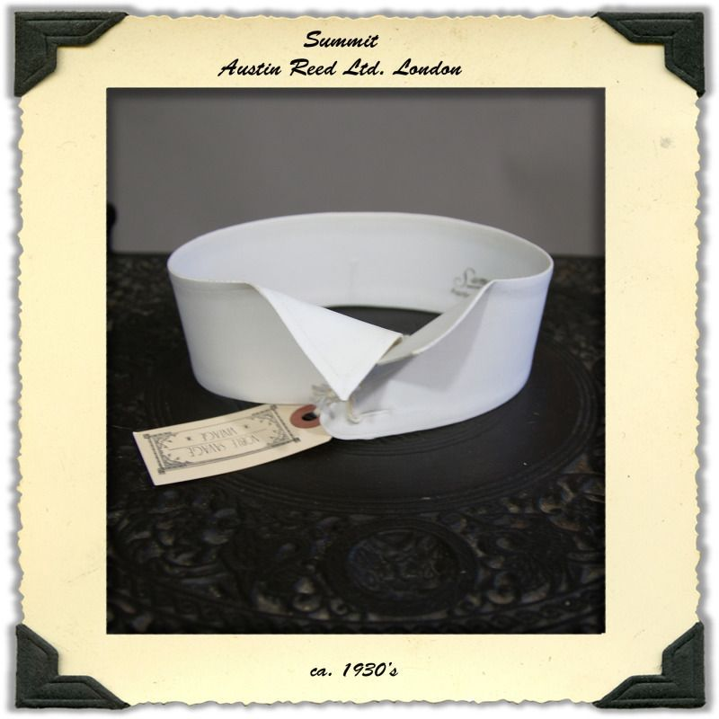 Detachable Wing Collar By Summit Austin Reed 1930s Wing Collar Austin Reed Collar