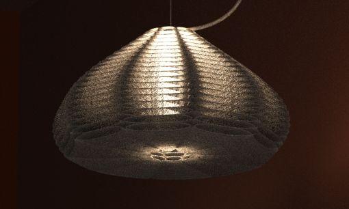 3d Printed Lamp Shade By Studioluminaire