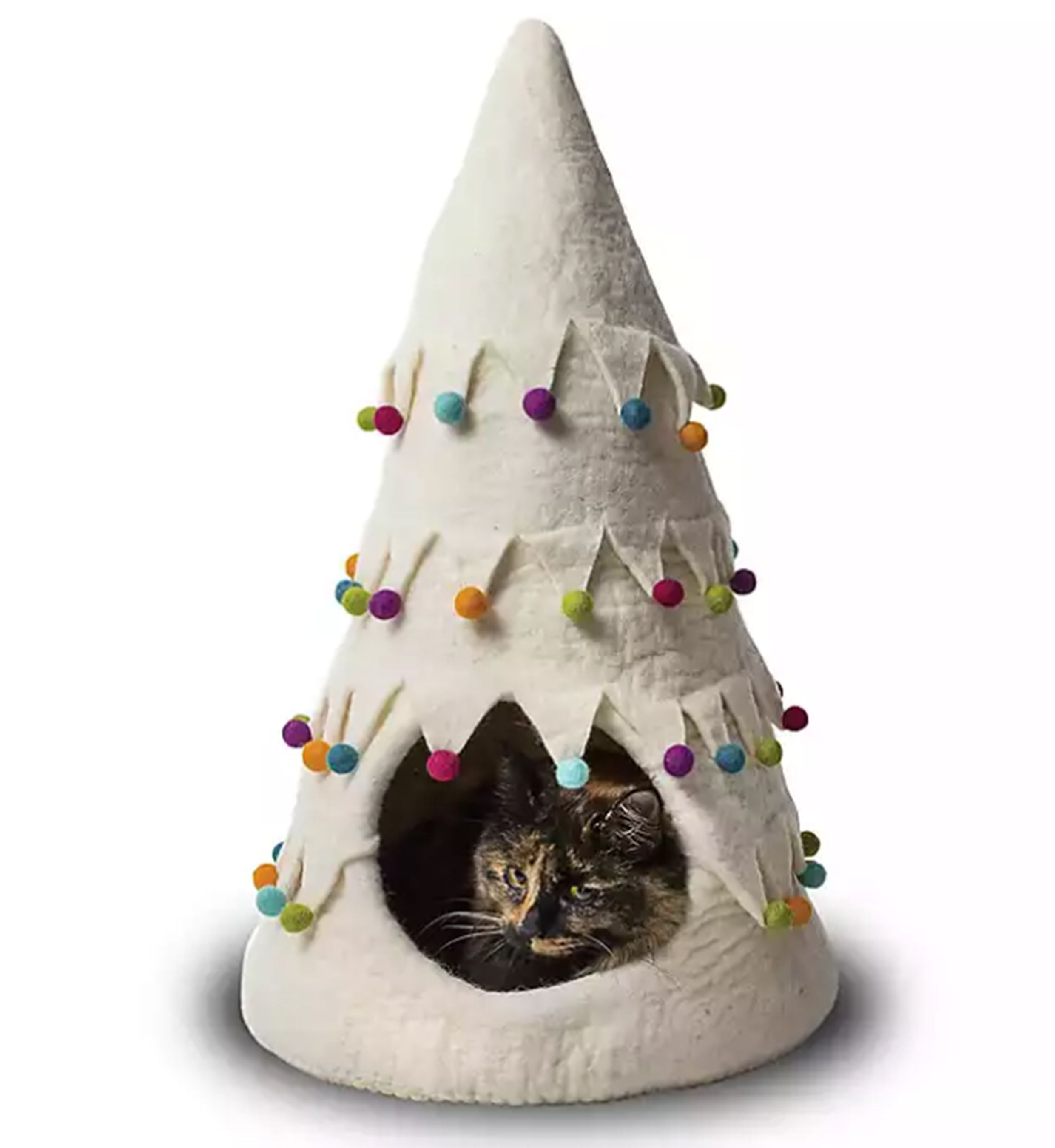I'll Be Home for Christmas! Adorable Cat Houses For Sale