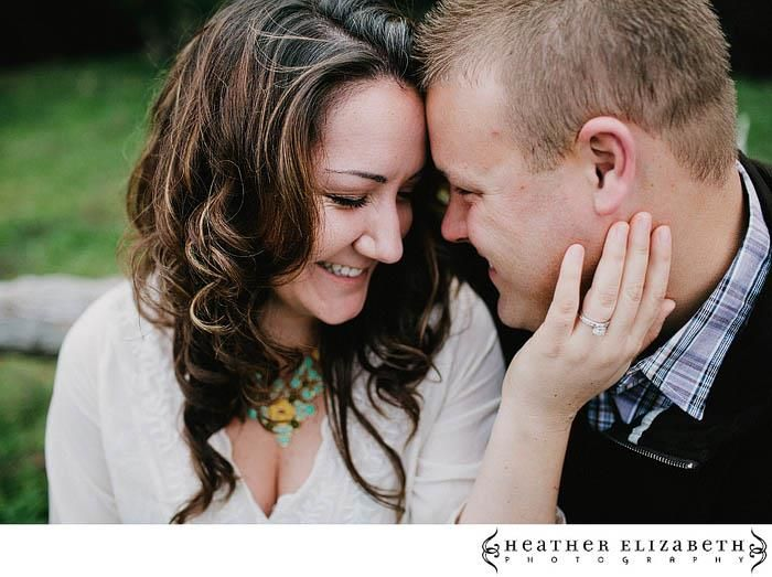 Love, love, love this engagement shot. Heather Elizabeth Photography