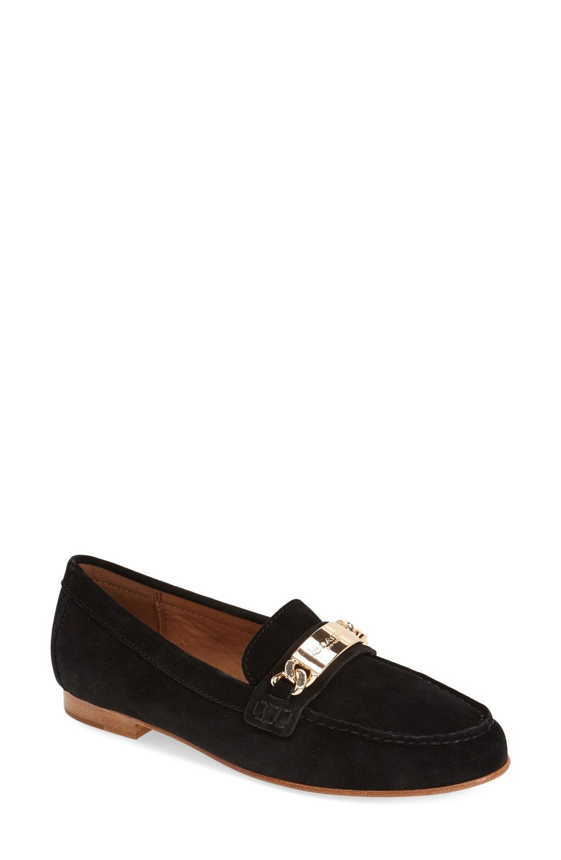 8db5a6be7bb COACH  Kimmie  Moc Stitched Loafer (Women)