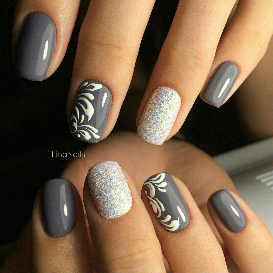 Маникюр Видео уроки art simple nail uña pinterest manicure