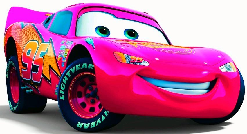 Pink Lighting Mcqueen Cars Movie Disney Cars Party Disney Cars Movie