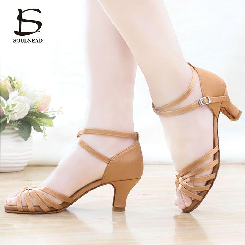 Hot Brand New Woman Ballroom Latin Tango Dance Shoes 5//7CM Heeled Dancing Salsa