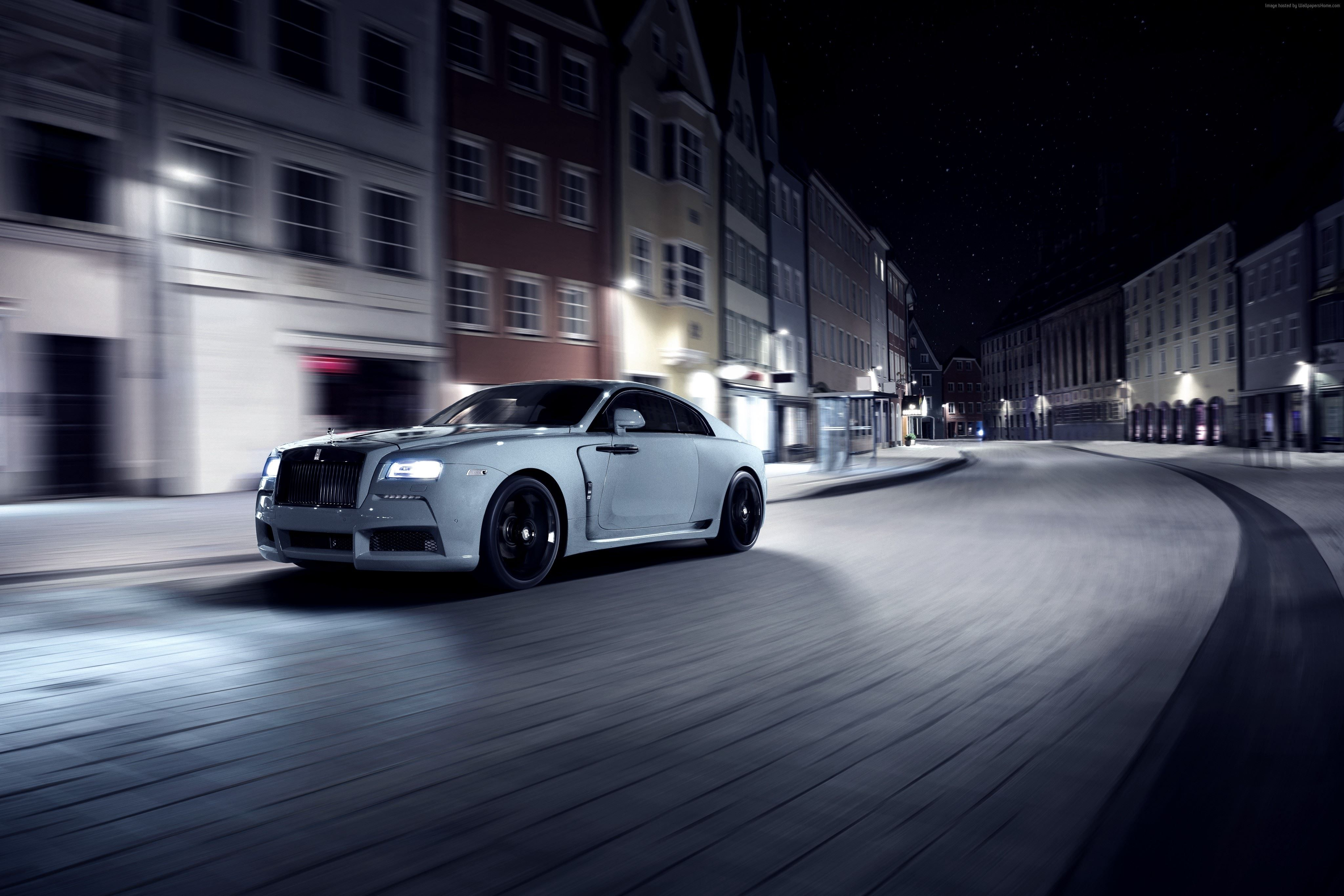 Spofec Rolls Royce Wraith, Overdose, silver, luxury cars – Classic Cars & Bikes …