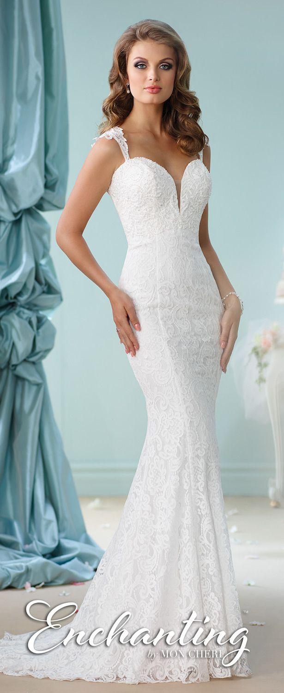 Hermosos vestidos de novias | Coleccion Mon Cheri | Vestidos de ...