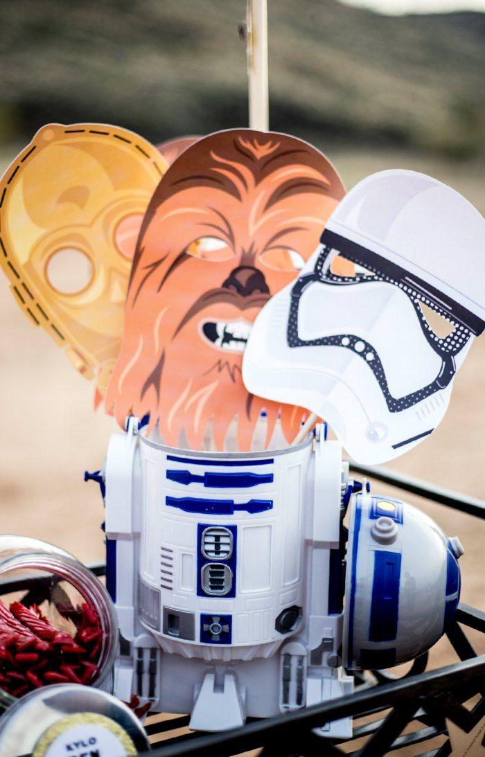 Star Wars Force Awakens Free Printable Masks