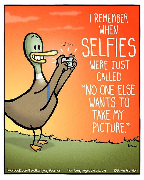Fowl Language Comics :: Selfies | Tapastic - image 1