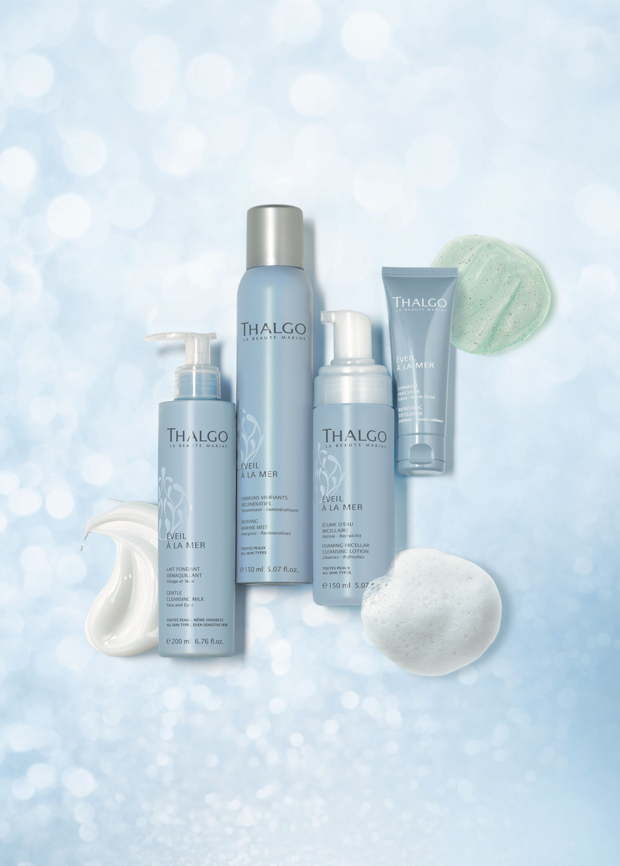 Thalgo's Eveil à la Mer cleansing range is inspired by the