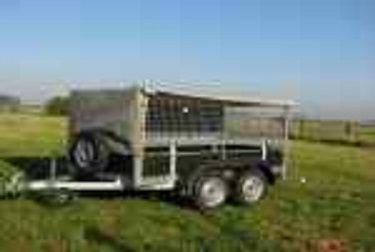 Remorque Utilitaire Double Essieux Ptac 750kg Remorque