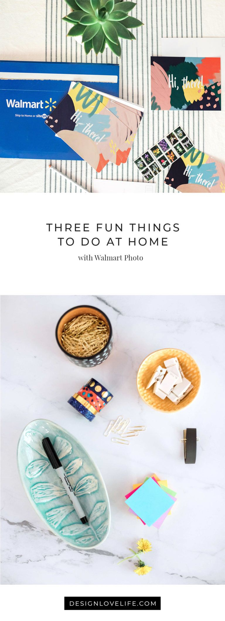 3 Fun Things To Do At Home With Walmart Photo And Design Love Life Things To Do At Home Fun Things To Do Walmart Photos