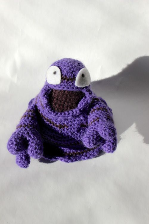 088 grimer crochet   pokemon crochet in order   Pinterest   Hipo y ...