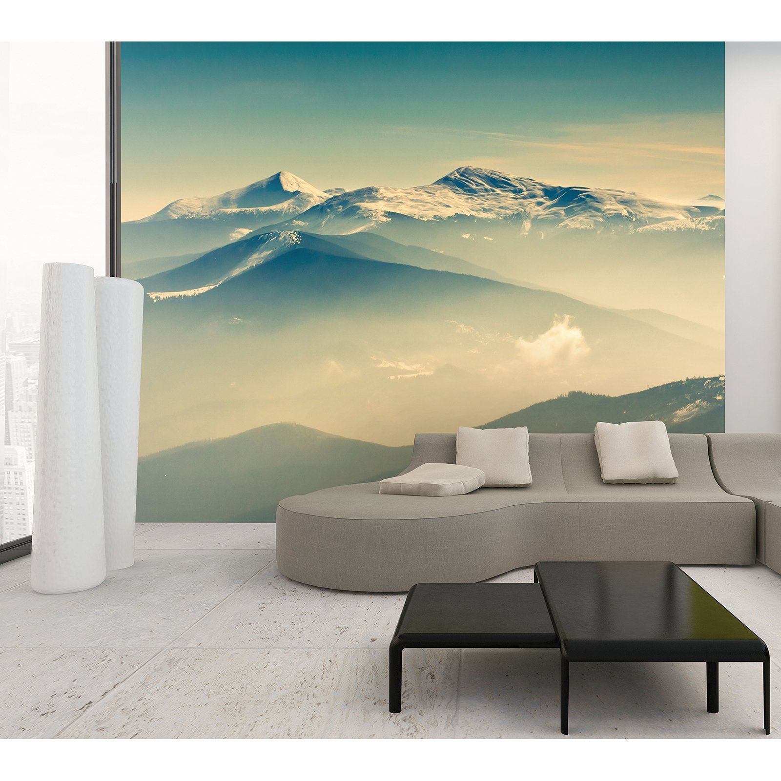 ohpopsi Summit Wall Mural - WALS0061 | Products | Pinterest | Wall ...