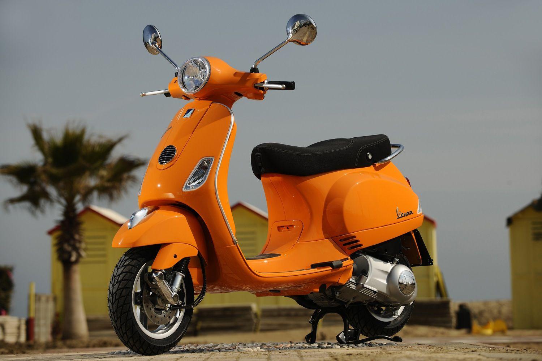 Orange Vespa Price New Vespa Vespa