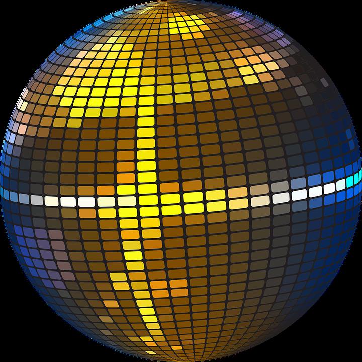 Ball Colorful Disco Discotheque Disco Ball Disco Wallpaper Space