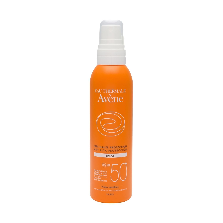 Avene Solar Pieles Sensibles Spray Spf50 200ml Piel Sensible Spray Piel