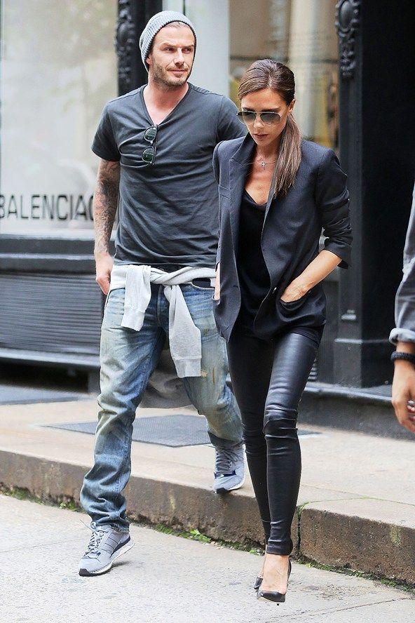 David Beckham Fashion Style 2013 David Beckham Casual F...