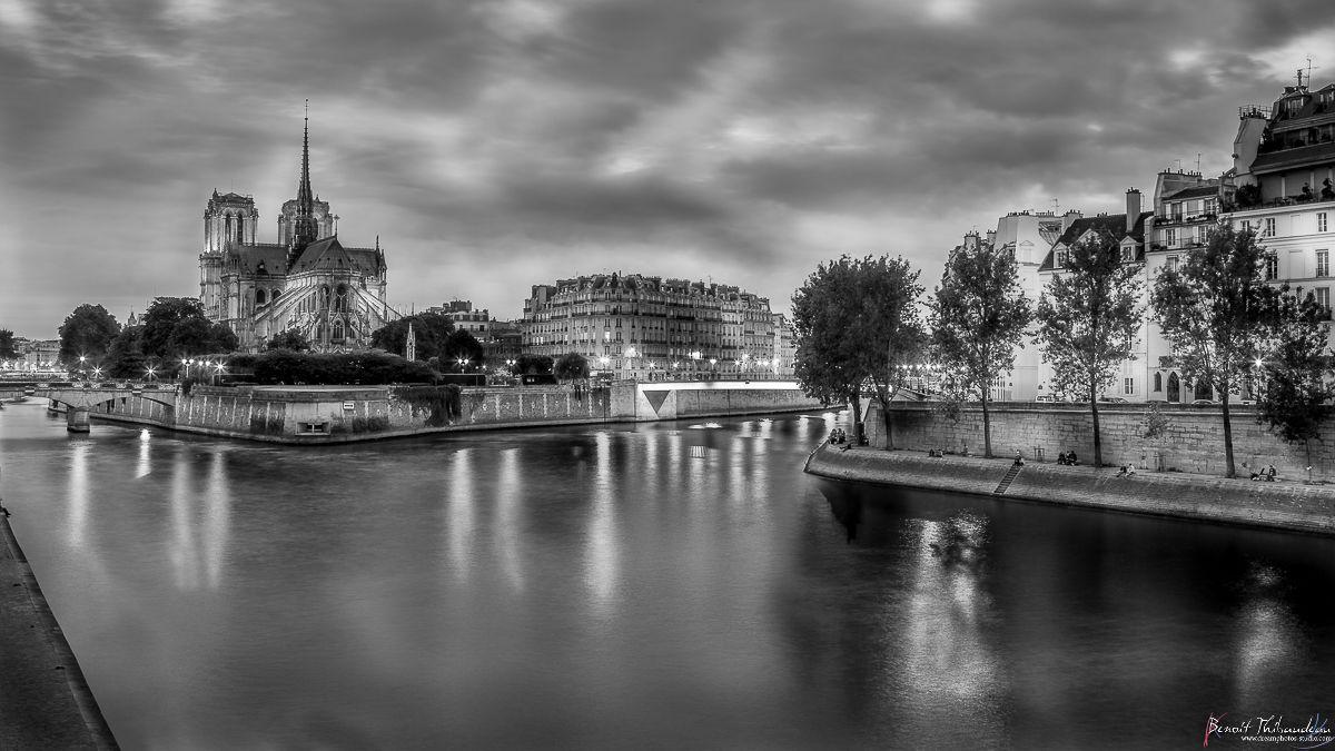 Bien-aimé faire de beaux noir et blanc avec lightroom | Photos Paris en  WZ96
