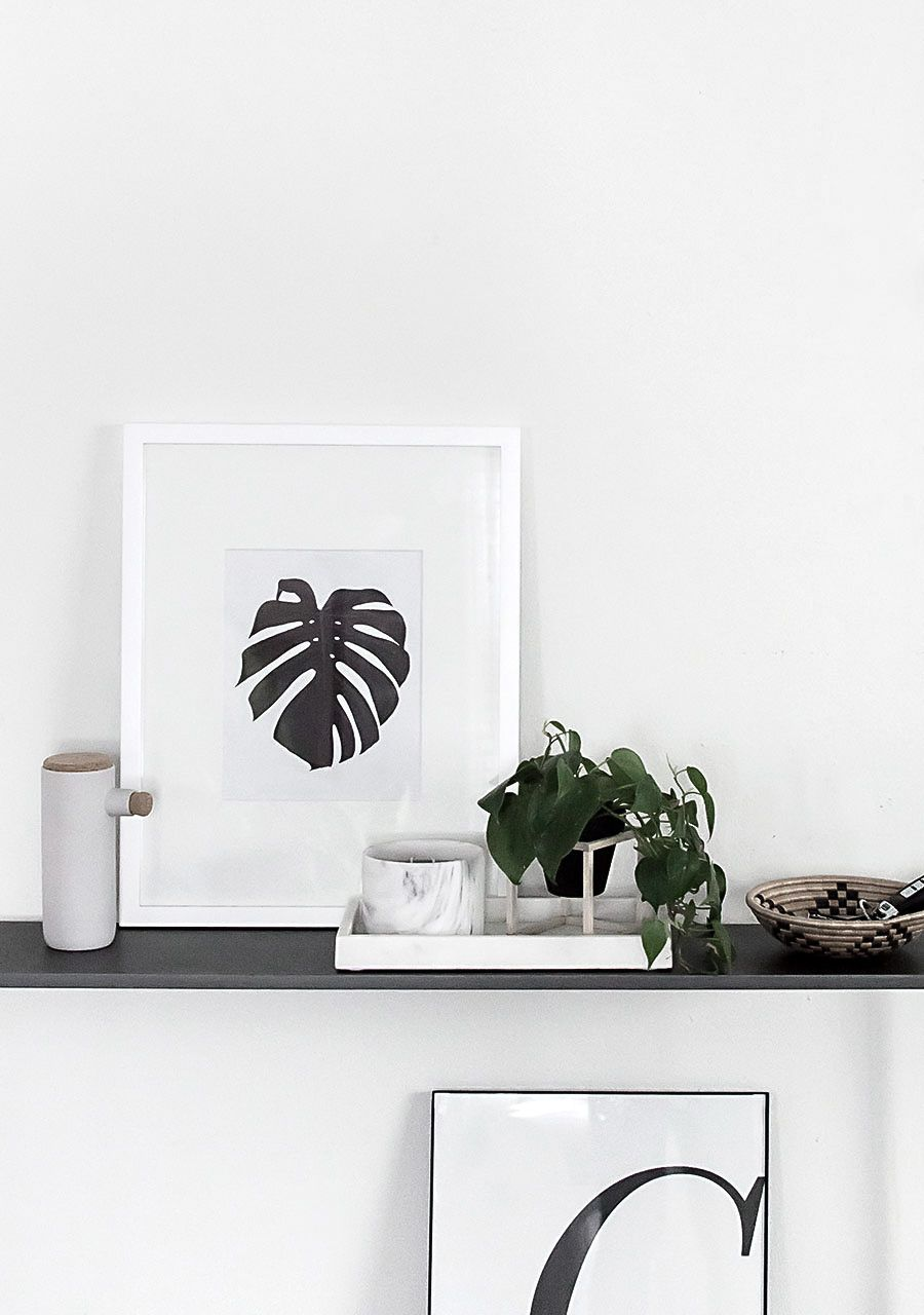 Monstera Art Free Printable Homey Oh My Free Art Scandinavian Print Free Printables