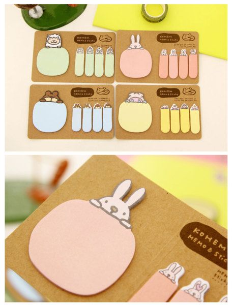 Dongtu Creative Note Tearable Note Paper Sticky Note Self-Stick Notes