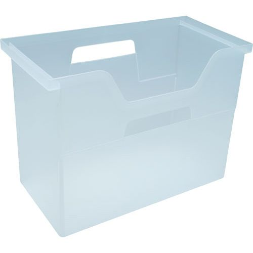 Perfect This Clear Plastic Hanging File Box Gives You A Simple Way To Store Hanging  File Folders In Your Home Or Office.