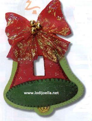 Manualidades De Navidad Campanas.Campana Navidena En Foami Lodijoella Arreglos Navidenos