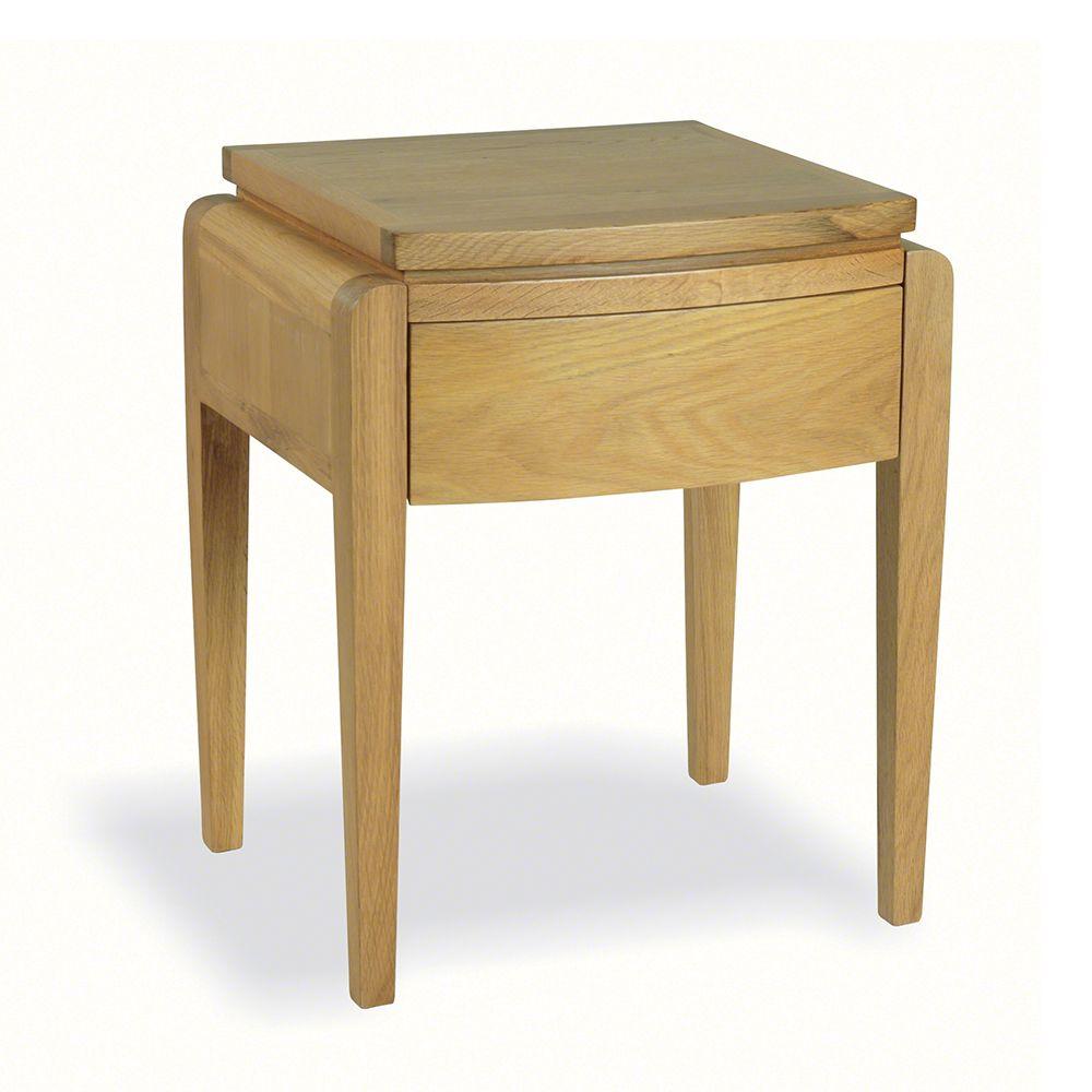 Oak Small Lamp Table