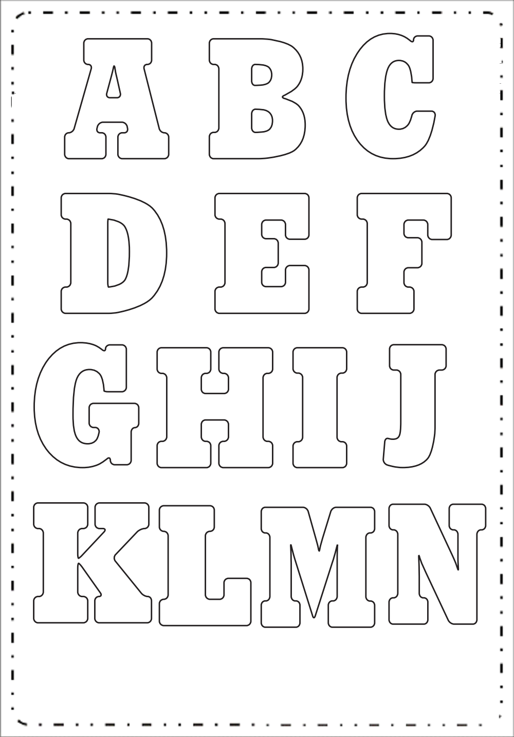 moldes-de-letras-grandes   Fieltro   Pinterest