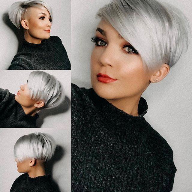 Kurzhaarfrisuren In Rot Fur Temperamentvolle Frauen Neue Frisur Damen Haar Styling Styling Kurzes Haar Frisur Dicke Haare