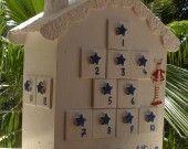 CALENDRIER DE L'AVENT BLANC collection 2012 : Accessoires de maison par fees-des-beaux-reves